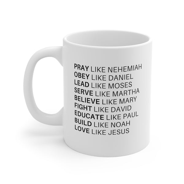 Love Like Jesus Mug 11oz