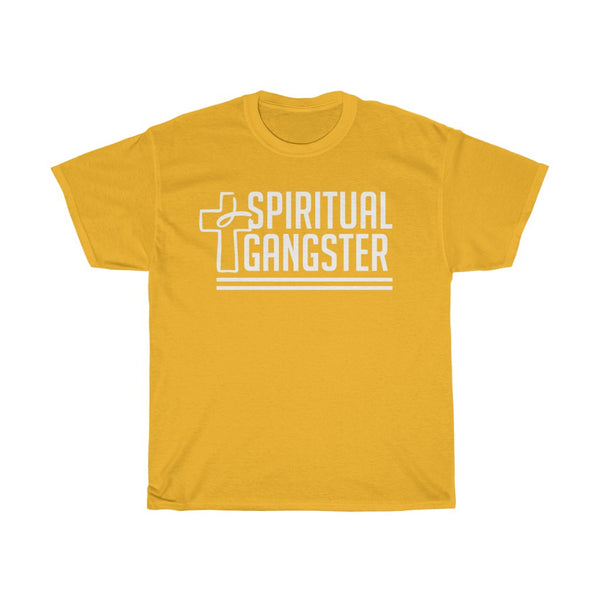 Spiritual Gangster Unisex Tee (White Letters)