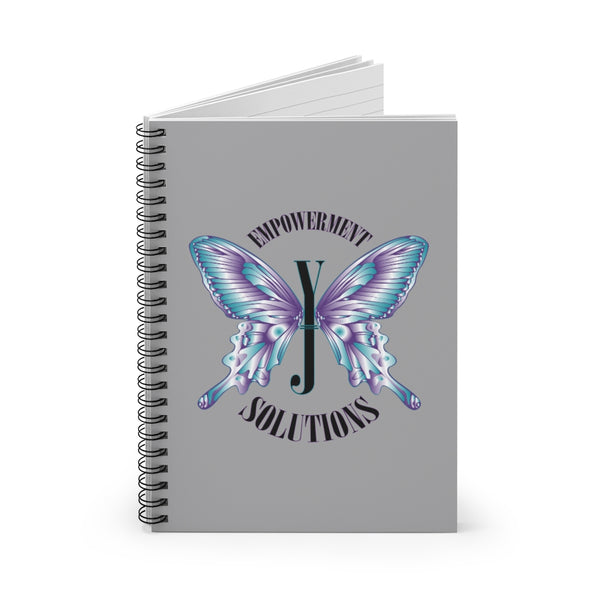 YJ Butterfly Spiral Notebook - Ruled Line