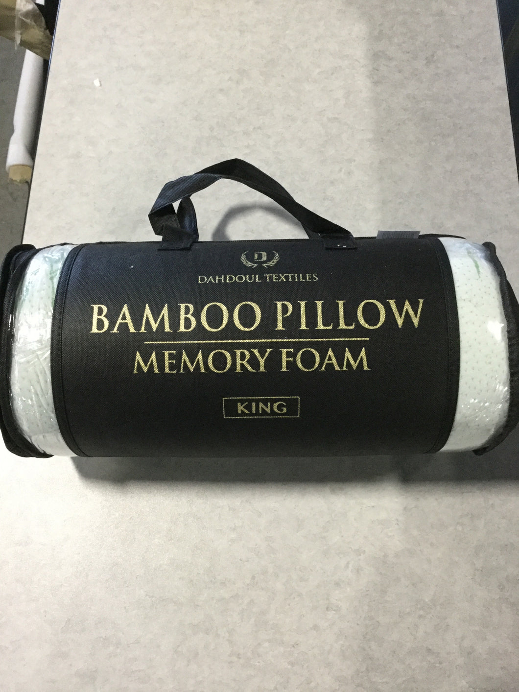 King Bamboo Memory Foam Pillow at ReStore WEST