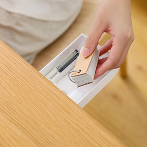 adhesive Storage Box-Office Drawer Self
