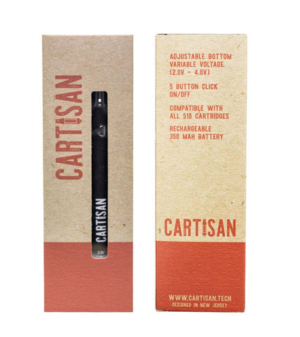 Cartisan VV Button 350mAh