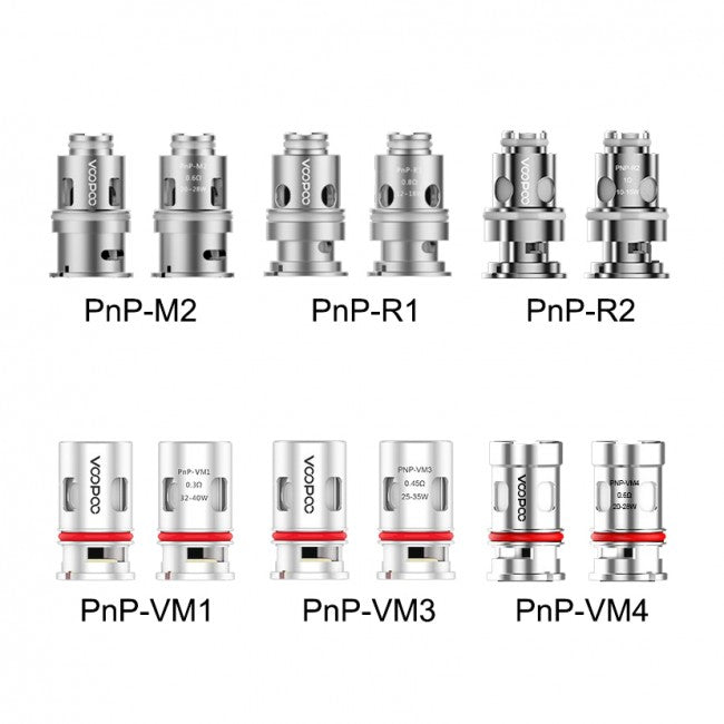 VOOPOO PnP Replacement Coils 5pk
