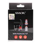 SMOK RPM Replacement Pod Kit (WITH COILS)