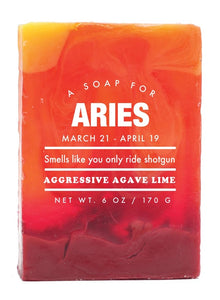 Astrology Soap- Aries
