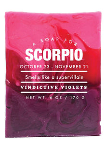 Astrology Soap- Scorpio