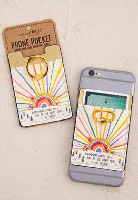 Phone Pocket With Ring