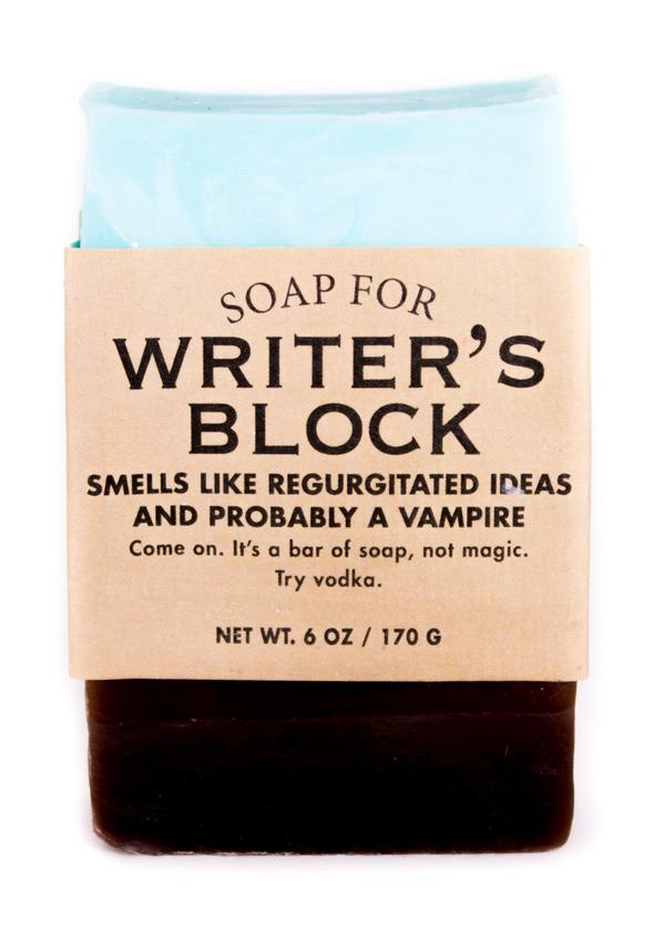 Soap- Writer's Block