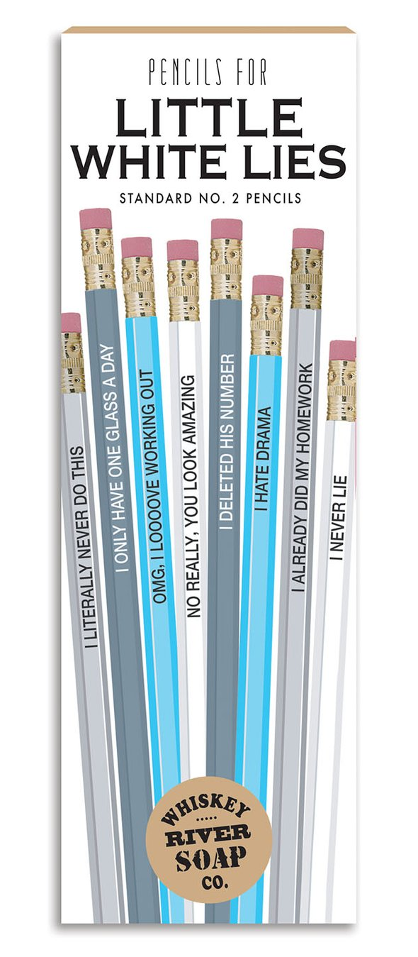 Little White Lies Pencils