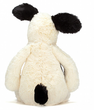 Load image into Gallery viewer, Bashful Black & Cream Puppy- Medium