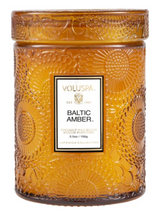 Load image into Gallery viewer, Baltic Amber Small Jar Candle