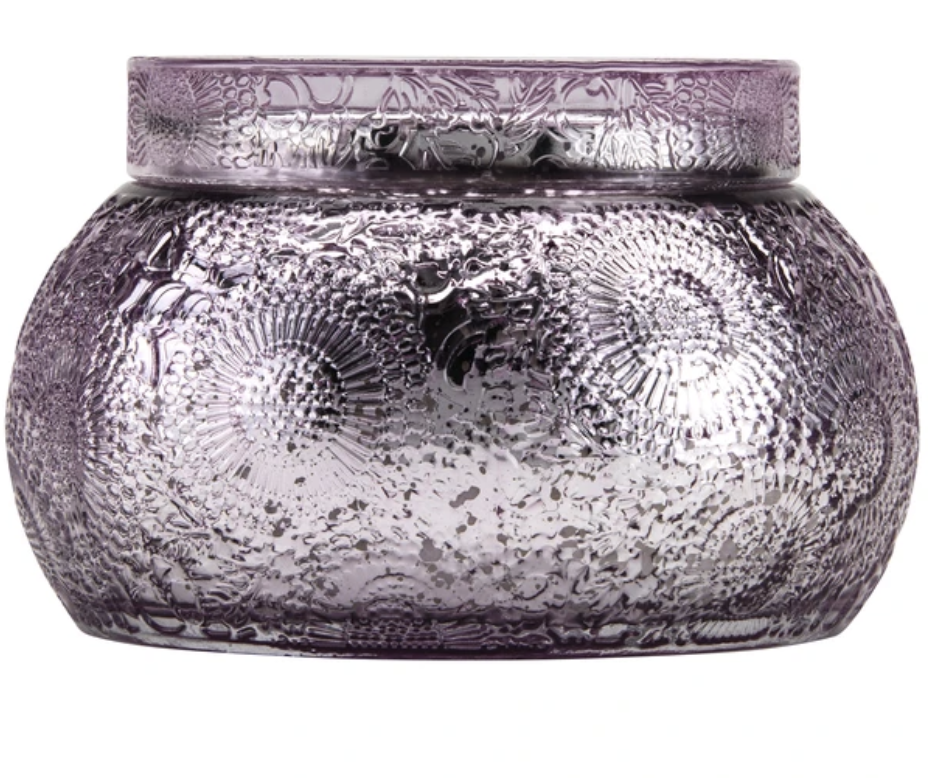 Japanese Plum Bloom Chawan Bowl Candle