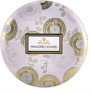Panjoree Lychee 3-Wick Tin (Limited Edition)
