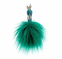 Load image into Gallery viewer, Fancy Peacock Bag Charm