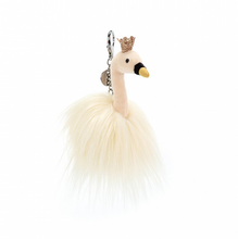 Load image into Gallery viewer, Fancy Swan Bag Charm