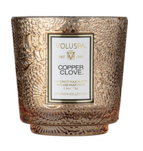 Load image into Gallery viewer, Copper Clove Seasonal Petite Pedestal Candle