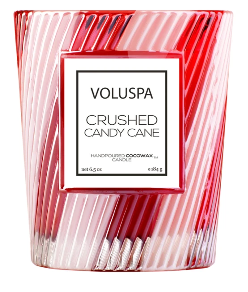 Crushed Candy Cane Limited Edition Classic Candle