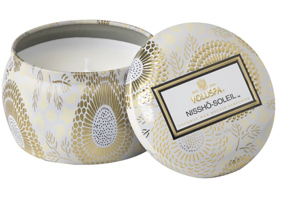 Nissho Soleil Petite Tin Candle