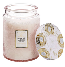 Load image into Gallery viewer, Panjore Lychee Large Jar Candle