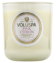 Load image into Gallery viewer, Pink Citron Maison Candle