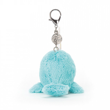Load image into Gallery viewer, Seas the Day Aqua Bag Charm