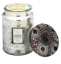 Load image into Gallery viewer, Yashioka Gardenia Large Jar Candle