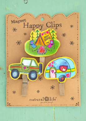 Magnet Happy Clips