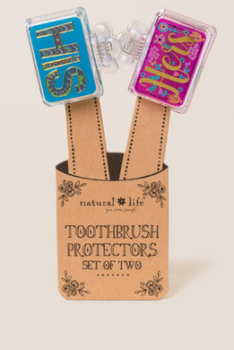 Toothbrush Protectors His & Hers Set