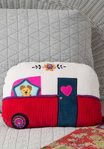 Happy Pillow- Camper