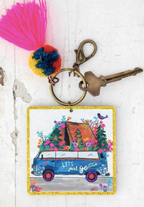 Chirp keychain - Lets just go