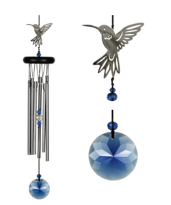 Crystal Hummingbird Chime