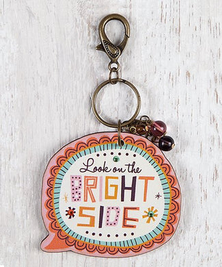 Thought Bubble Keychain