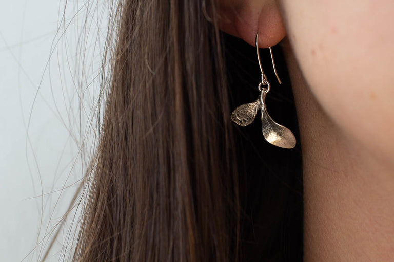 Seedling drop earrings