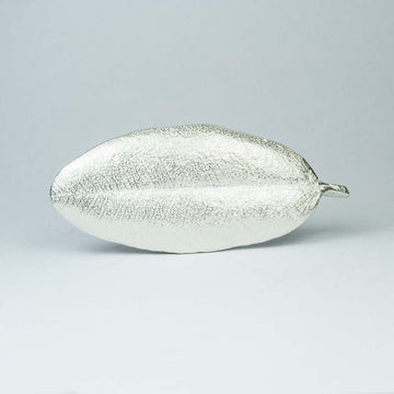 Sterling silver small Pohutukawa Leaf Brooch