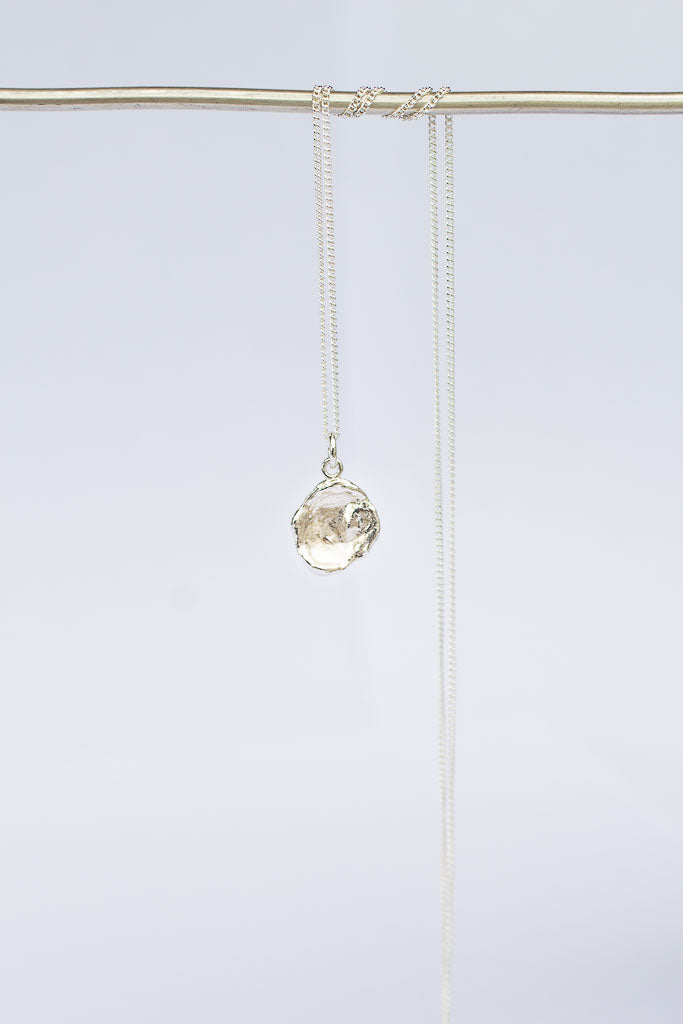 Water Drop Pendant - Sterling Silver