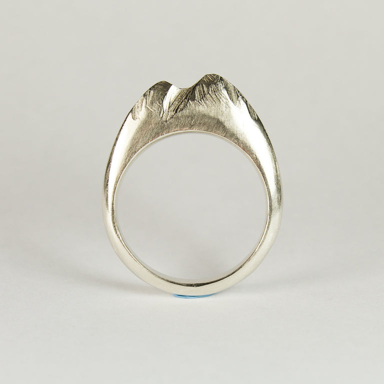 Sterling Silver Mountain Ring - Sophie Divett Jewellery - ring