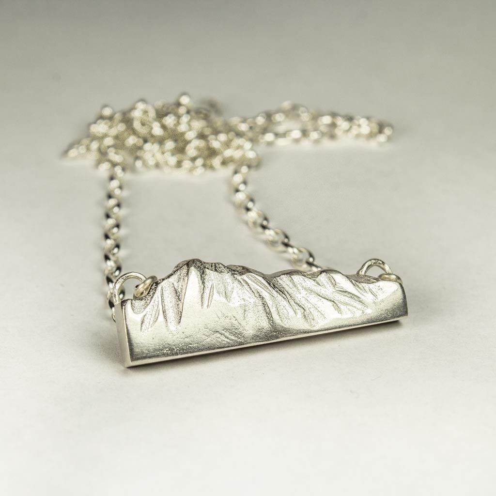 The Remarkables Pendant in Sterling Silver - Sophie Divett Jewellery - necklace - 1