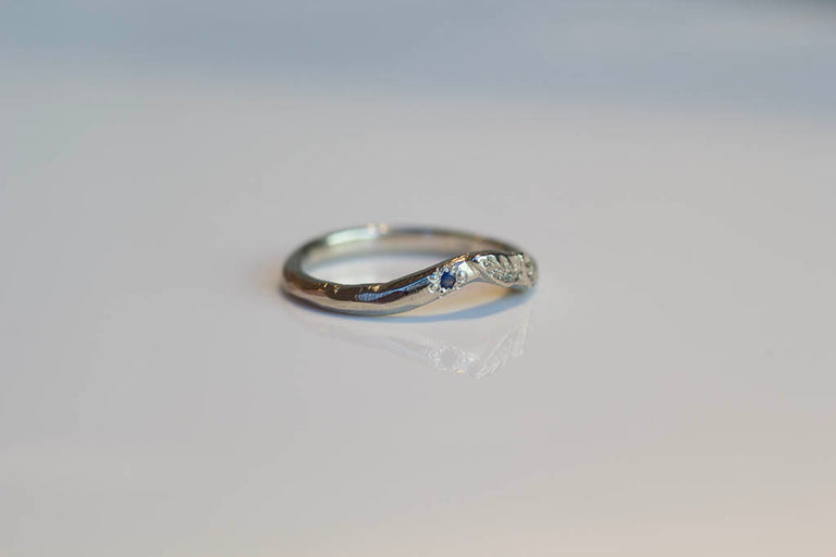 Hestia Ring - 9ct Yellow Gold with Recycled Diamonds