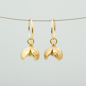 Pittosporum/kōhūhū seed pod earrings