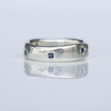 Star Band with Sapphires