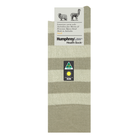 Humphrey Law Fine Merino/Baby Alpaca Blend Health Sock® Style 03C