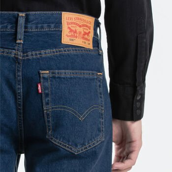 LEVIS 516 Straight Fit Jean Blue/Black