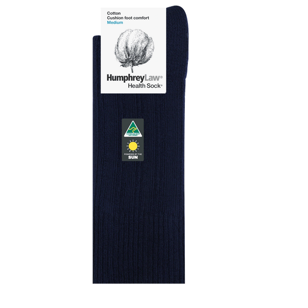 Humphrey Law 95% Cotton Cushion Sole Health Sock® Style 55C