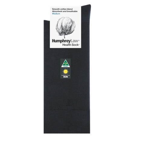 Humphrey Law 85% Mercerised Cotton Health Sock® Style 57C