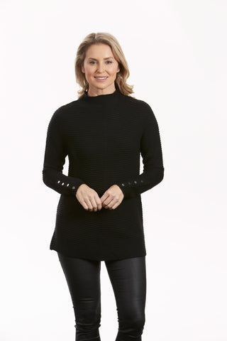 Bella Funnel Neck Tunic FB0414