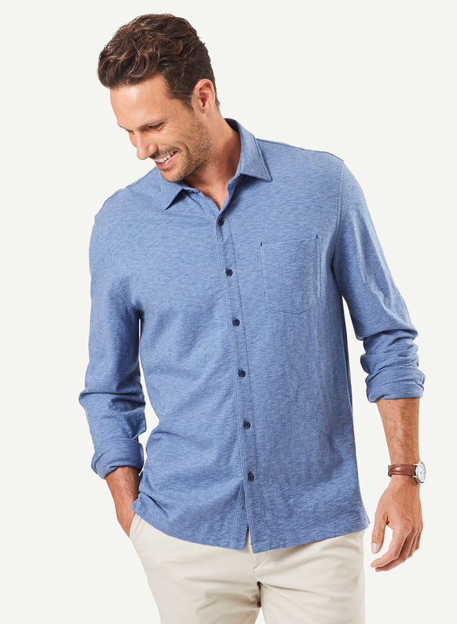 Gazman Casual Knit Shirt LSHW21093