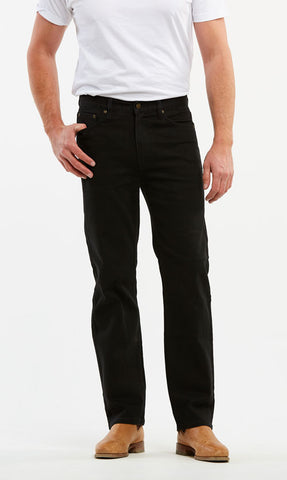 Riders Black Stretch Regular Fit Jean 58032