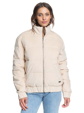 Roxy Adventure Coast Collared Puffer Jacket ERJJK03350