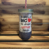 Little Minds Glitter Jar - HandmadeSask