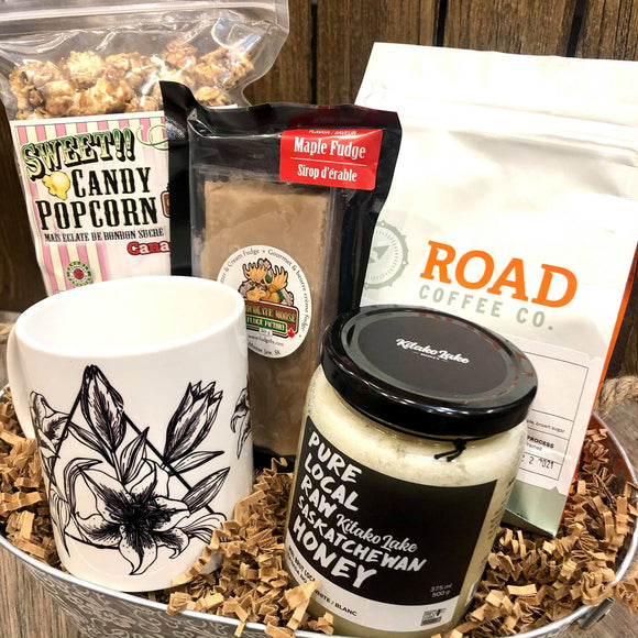 Coffee Gift Basket - HandmadeSask